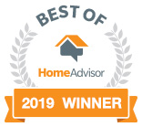 2019 HomeAdvisor Award Winner