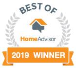 2019 HomeAdvisor Award Winner