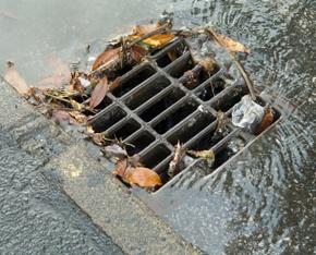 Preparing Storm Drains &  Catch Basins for a Hurricane